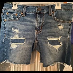 American Eagle Jean shorts with faux holes
